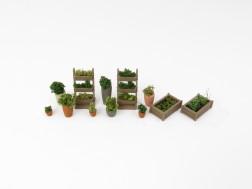 H0 - Flower pots