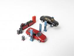N - Car repair shop equipment