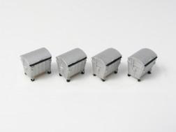 TT - Kontejnery kovové 1100l