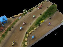 N - Motocross-Fahrer